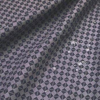 超撥水風呂敷ながれ アムンゼン(市松小紋)70cm×70cm                                     [chf005]